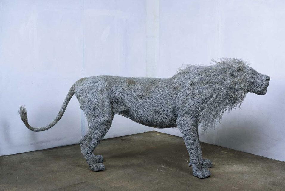 wire lions | Viktoria Kirkova\'s blog